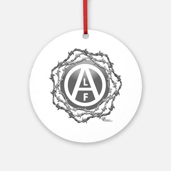 alf-black-02 Round Ornament