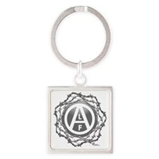 alf-black-02 Square Keychain