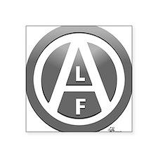 """alf-white-03 Square Sticker 3"""" x 3"""""""