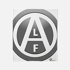 alf-white-03 Throw Blanket