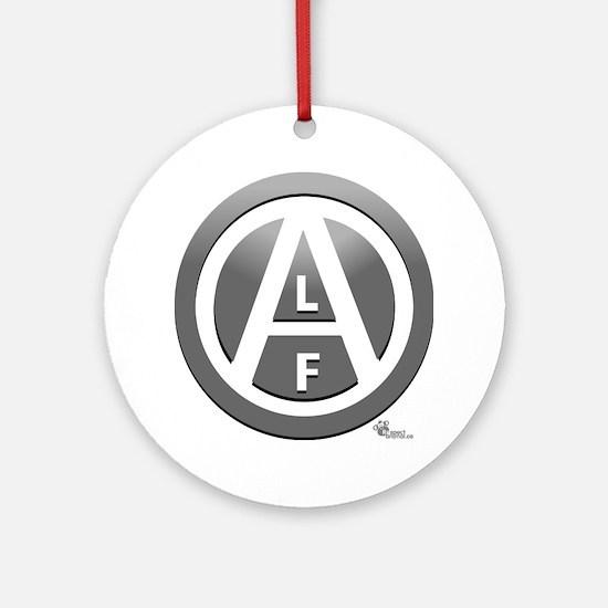 alf-white-03 Round Ornament
