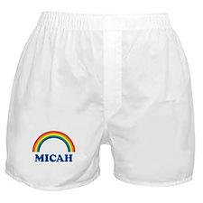 MICAH (rainbow) Boxer Shorts
