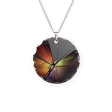 Multicolored Butterfly Necklace