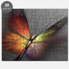 Multicolored Butterfly Puzzle