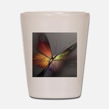 Multicolored Butterfly Shot Glass