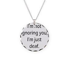 imnotignoringyou-bla Necklace