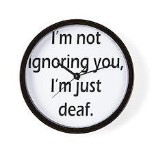 imnotignoringyou-bla Wall Clock