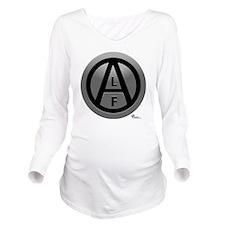 alf-black-03-2 Long Sleeve Maternity T-Shirt