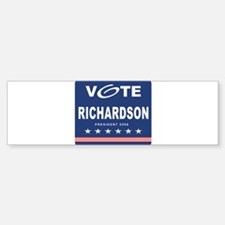 Vote Richardson Bumper Bumper Bumper Sticker