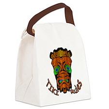 TikiRules Canvas Lunch Bag