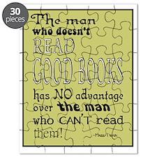 Good Books Twain border Puzzle