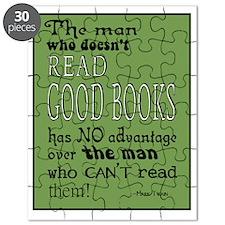 Good Books green border Puzzle