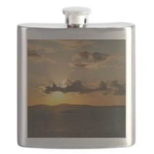 Mykonos Sunset Flask