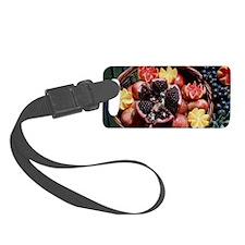 Turkish Fruits Luggage Tag