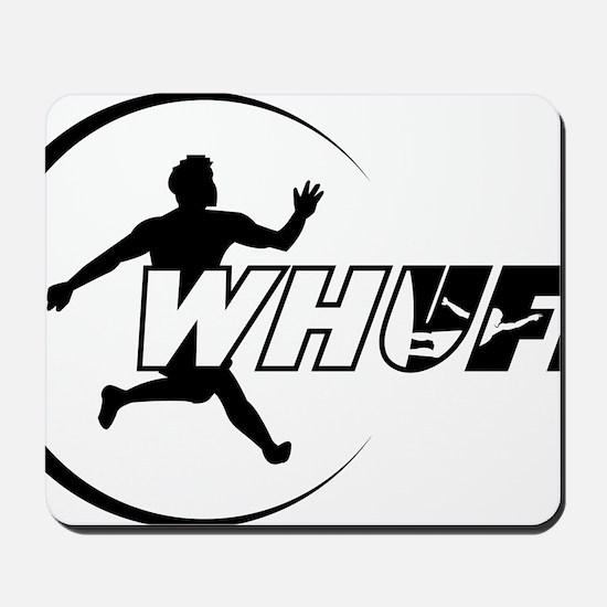 WHUFL-outline7 Mousepad