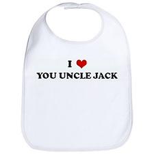 I Love YOU UNCLE JACK Bib