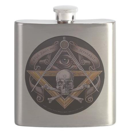 Virtus Junxit Mors Non Seperabit 768x762 Flask