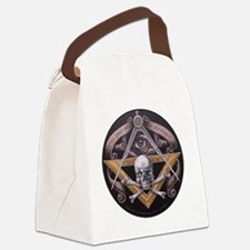 Virtus Junxit Mors Non Seperabit  Canvas Lunch Bag
