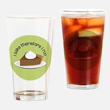BakeRunPumpkinPiejewelry Drinking Glass