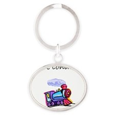 future conductor Oval Keychain