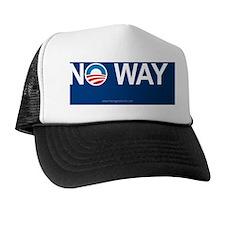 5x3oval_noway Trucker Hat