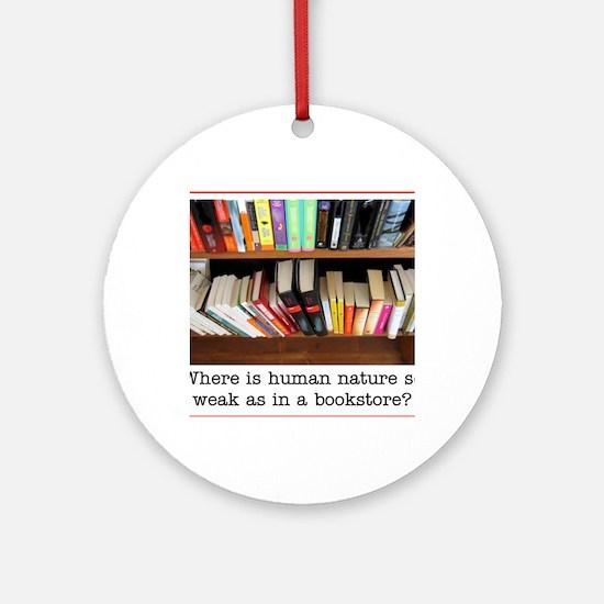 bookstore Round Ornament
