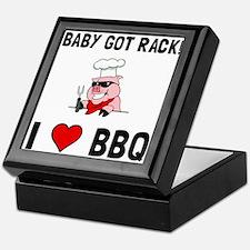 BBQ Baby Got Rack Keepsake Box