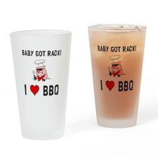BBQ Baby Got Rack Drinking Glass