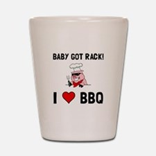 BBQ Baby Got Rack Shot Glass