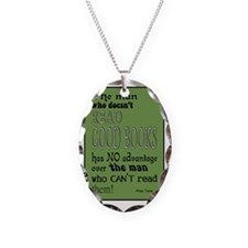 twain green 10x14 Necklace