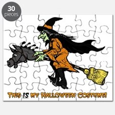 Halloween Witch Costume Puzzle