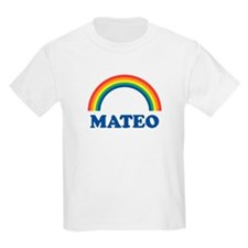 MATEO (rainbow) Kids T-Shirt