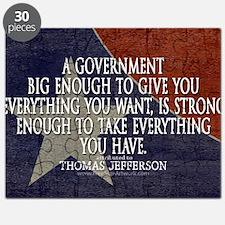 Big Government Quote Puzzle