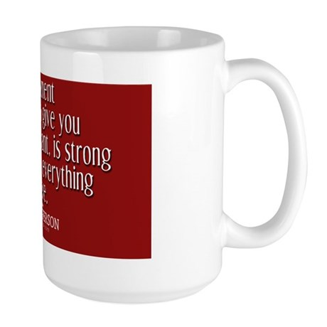 Big Government Quote Large Mug