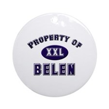 Property of belen Ornament (Round)