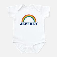 JEFFREY (rainbow) Infant Bodysuit