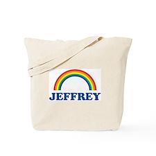 JEFFREY (rainbow) Tote Bag