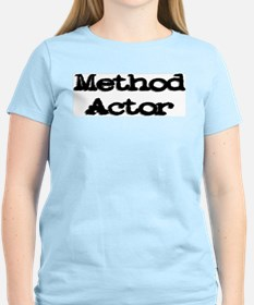 Method Actor Women's Pink T-Shirt
