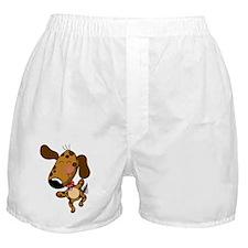 doggy dancing Boxer Shorts