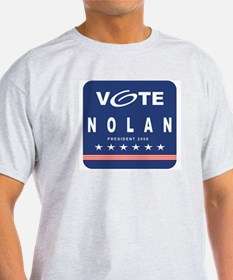Vote Nolan Ash Grey T-Shirt