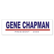 Gene Chapman (simple) Bumper Bumper Sticker