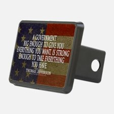 Big Government Quote Hitch Cover