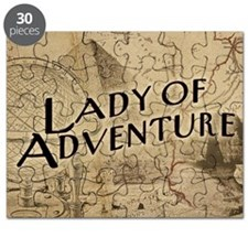 lady-of-adventure_12x18h Puzzle