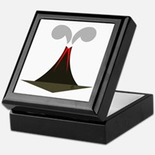 final volcano Keepsake Box