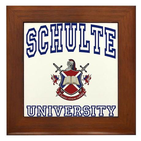SCHULTE University Framed Tile
