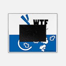WTF-hookCafePress Picture Frame