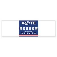 Vote Morrow Bumper Bumper Sticker