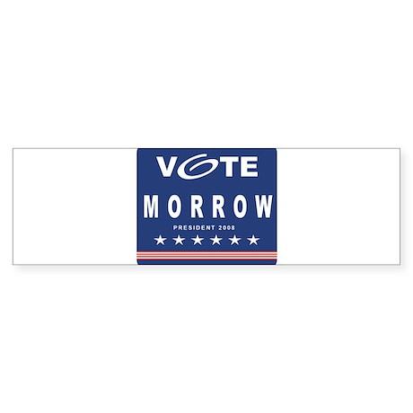 Vote Morrow Bumper Sticker