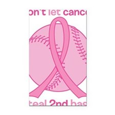 Dont Let Cancer Steal 2nd Bas Rectangle Car Magnet