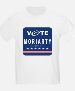 Vote Moriarty Kids T-Shirt